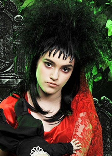 Womens Beetlejuice Style Gothic Bride -