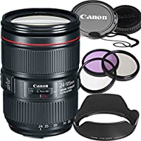 Canon EF 24–105mm f/4L IS II USM Lens (White Box) - International Model
