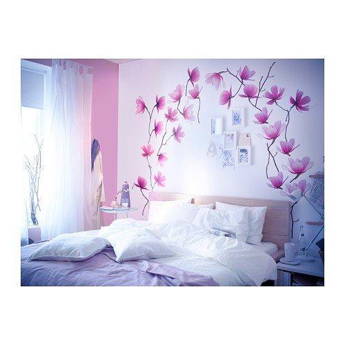 Ikea Slatthult Aufkleber Magnolie Amazon De Kuche Haushalt