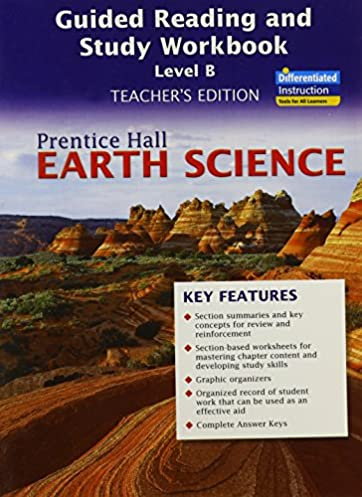 earth science guided reading and study workbook level b teacher s rh amazon com Pearson Reading Books to Me Pearson Reading Books to Me
