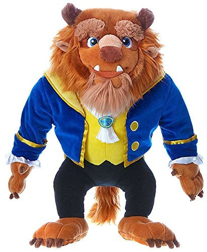 Beast Plush - Disney Authentic Princess Beauty and the Beast Beast Exclusive 15 1/2