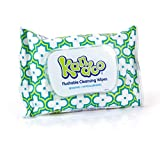 Flushable Wet Wipes for Toddlers and Kids, Sensitive by Kandoo, Resealable for Travel, Hypoallergenic Potty Training Cleansing Cloths, Unscented, 42 Count, Pack of 35 (Pack of 35)