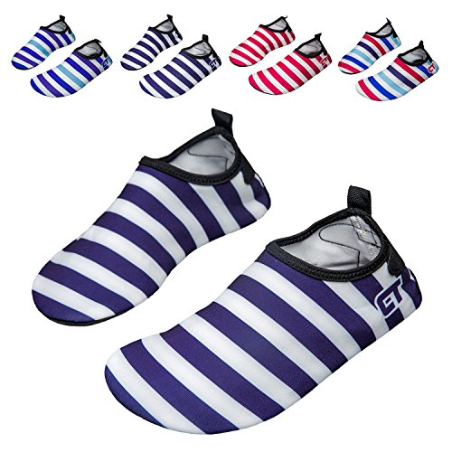 Swimming norocos Lightweight Navy Shoes Soft Water Dry Quick Yoga Beach Men's Socks Surf Aqua Women's PPwrB