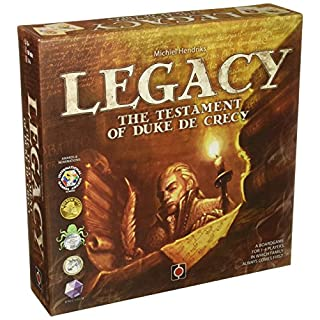 Wydawnictwo Portal POP00323 Legacy The Testament of Duke De Crecy Board Game