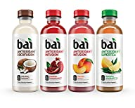 Bai Mountainside Variety Pack,  Antioxidant Infused Beverage, 18 Ounce (Pack of 12)