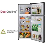 LG 260 L 2 Star Smart Inverter Frost-Free Double Door Refrigerator (GL-T292SPGY, Purple Glow, Convertible)