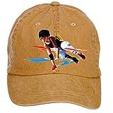 Nusajj Mirror's Edge Catalyst Unstructured 100% Cotton Baseball Caps Design for Male Brown One Size