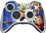 Dragon Ball Z Xbox 360 Wireless Controller Skin - Dragon Ball Z Goku Blast Vinyl Decal Skin For Your Xbox 360 Wireless Controller