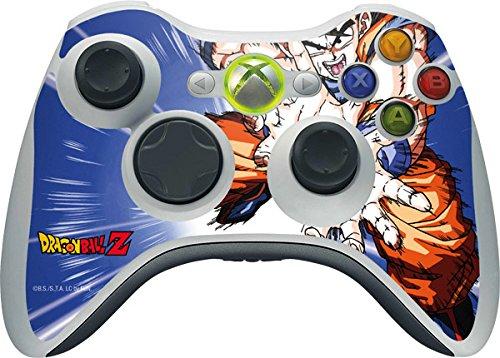 (Dragon Ball Z Xbox 360 Wireless Controller Skin - Dragon Ball Z Goku Blast Vinyl Decal Skin For Your Xbox 360 Wireless Controller)
