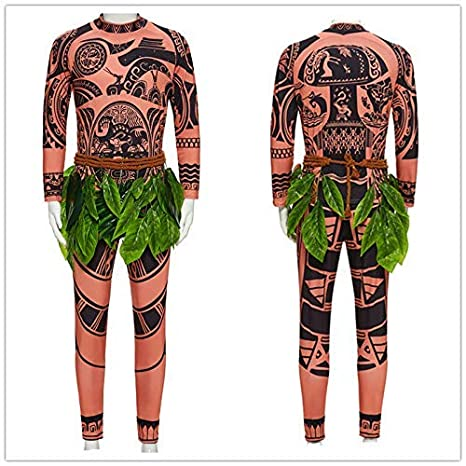 Amazon com : Kimmyi Moana Maui Tattoo T Shirt/Pants Baby