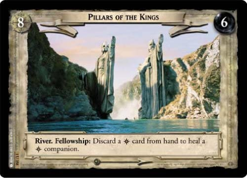 LoTR TCG FoTR Fellowship Of The Ring Silverlode Banks FOIL 1U355