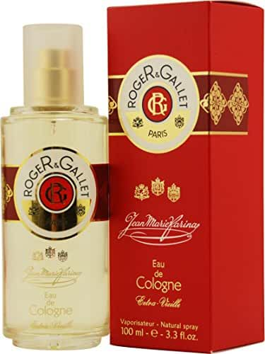 ROGER & GALLET JEAN MARIE FARINA by Roger & Gallet EXTRA VIEILLE EAU DE COLOGNE SPRAY 6.6 OZ (Package Of 3)