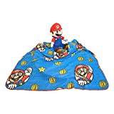 Super Mario Blanket Plush Hugger Pillow Set