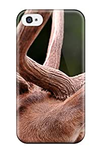 Lovers Gifts Premium Antler Heavy-duty Protection Case For Iphone 4/4s 1308325K89811418