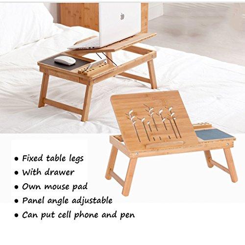 Folding Laptop Table Laptop Cooling Computer Desk Laptop Stand Dorm - Picnic table leg angle