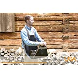 Backsaver Firewood Apron (7-10WG) Black with Silver Trim - SHIPS DIRECT FROM OTTAWA SAVING YOU TIME AND MONEY!