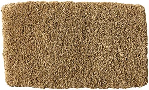 Kempf Natural Coco Coir Doormat, 14 by 24-Inch