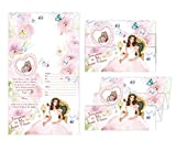 Beautiful Spanish Quinceanera Sweet 15 Invitations Comes in Packs of 100 with Envelopes