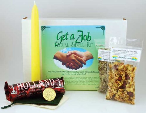 Fortune Telling Toys Boxed Magic Spell Kit Get A Job New Opporunities by AzureGreen