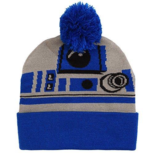Star Wars R2D2 Pom Beanie (R2d2 Hat)
