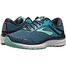 Brooks Women's Adrenaline GTS 18 Navy/Teal/Mint 10.5 D US