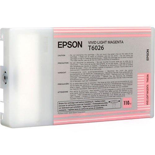 Vivid Light Magenta Ultrachrome Ink, 110mL for 7880 (Ultrachrome Magenta Ink Vivid)