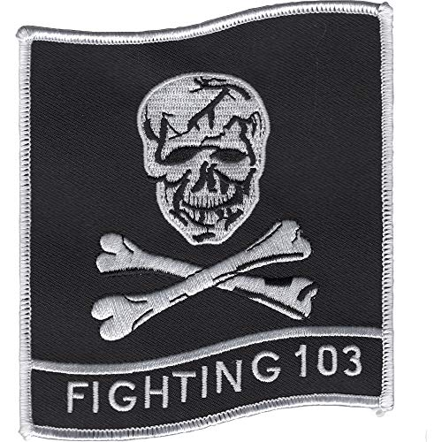 (VF-103 Patch Fighting 103 Jolly Rogers-FLAG)