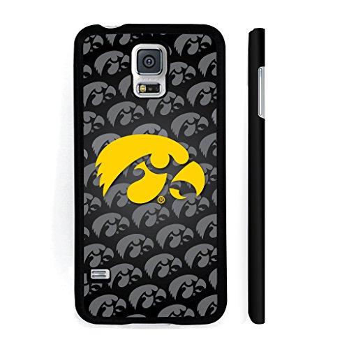 - University of Iowa Samsung Galaxy S5 Black Plastic Case - Tiger Hawk - Design 6