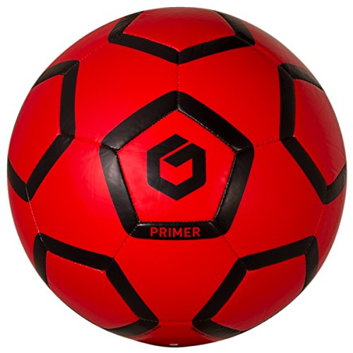 GOLME Primer Soft-Touch Soccer Ball - English Red Size 4 (Soccer Ball Red)