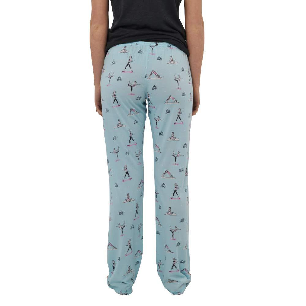 PJ Salvage Yoga Pose Pajama Pant in Seafoam at Amazon ...