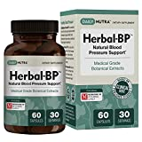 Cheap Herbal-BP Natural Blood Pressure Support with Stress Management – Medical Grade Botanical Extracts – Safe, Long-Term Support