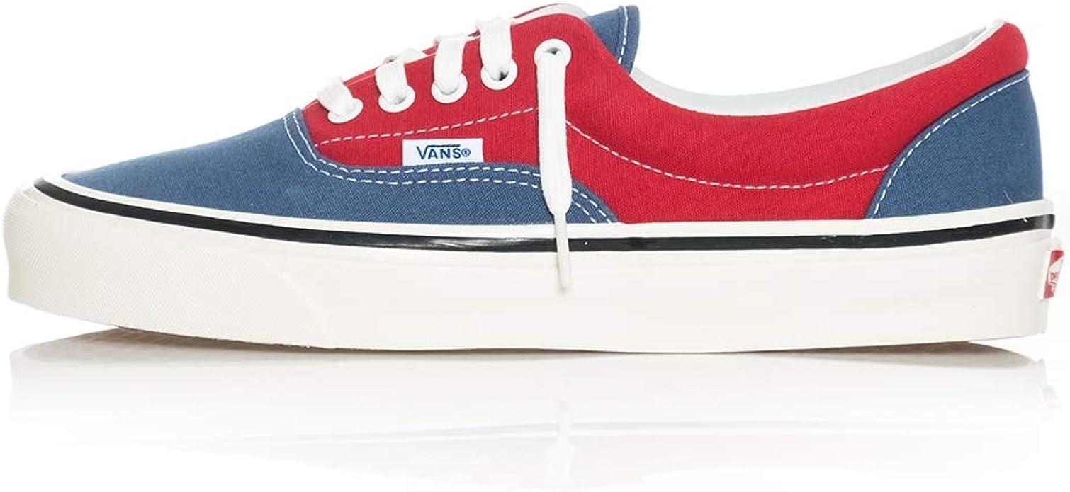 Vans Era Sneakers Damen Herren Unisex Blau Rot