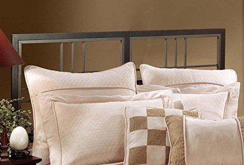 Hillsdale Furniture 1334HKR Tiburon Headboard, Magnesium Pewter