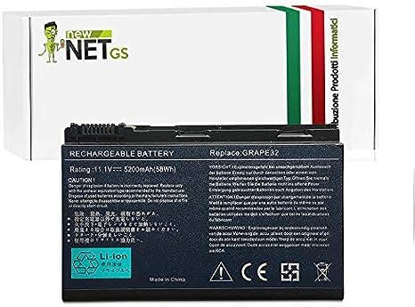 Batería para Acer TM00742   TM00751   BT.00603.024 de 5200 mAh 10.8/11.1 V para Acer Extensa 5000 5630 5230E 5630Z 5630EZ 5635EZ