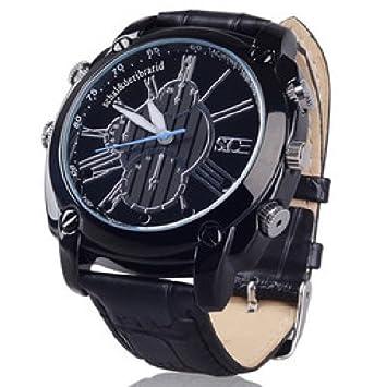 Agente007 - Reloj Espia Full Hd 1080P 12 Mega Pixel Vision Nocturna Deteccion De Movimiento 8Gb: Amazon.es: Electrónica