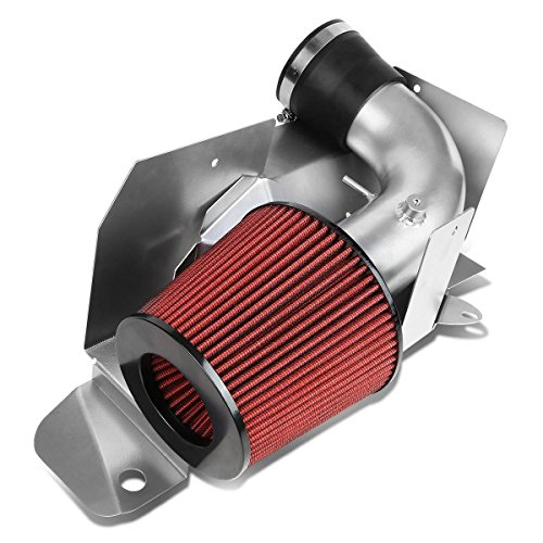 DNAMotoring AIP-2-HS-VW03-SLSL Cold Air Intake System and Heat Shield