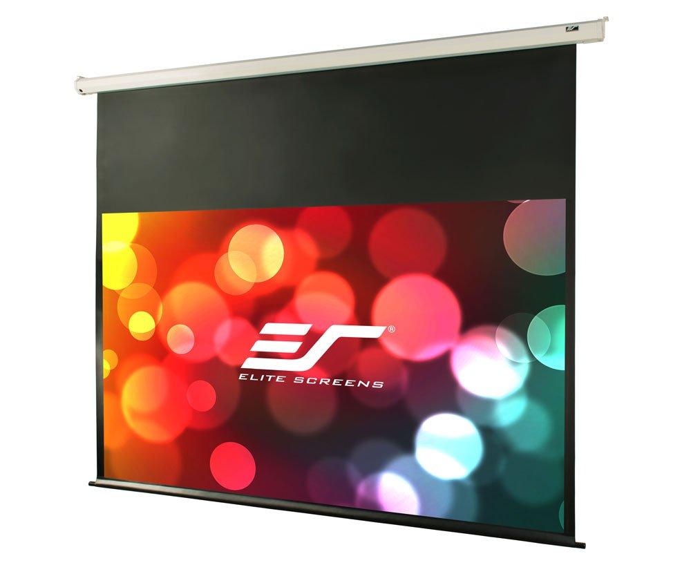 "Amazon.com: Elite Screens VMAX2, 120-inch 16:9, 24"" Drop, Electric  Motorized Drop Down HD Projection Projector Screen, VMAX120XWH2-E24: Home  Audio & Theater"