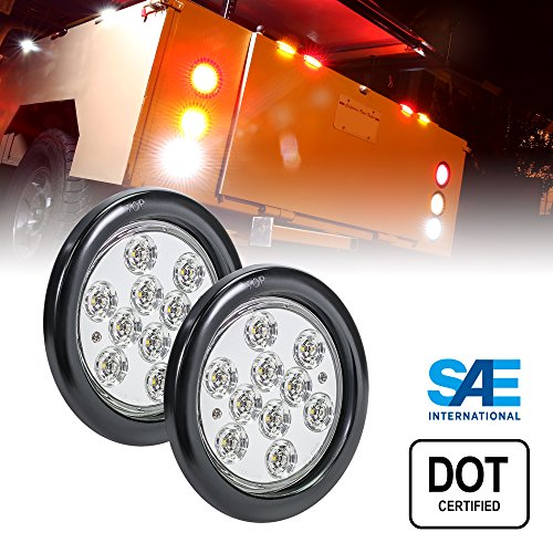 4 Inch Round Led Backup Lights - 3