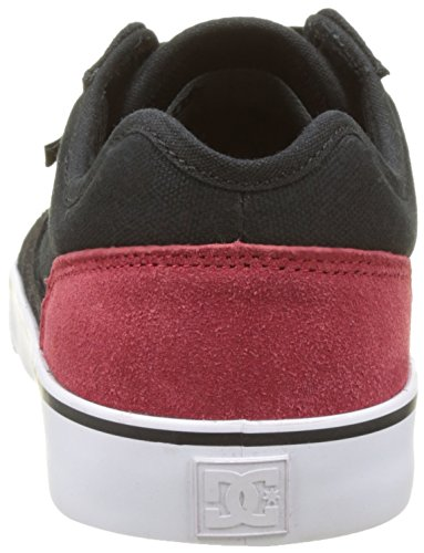 DC Shoes TONIK M SHOE XKRW, MAN, Color: BLACK/RED/WHITE, Size: 40.5 EU (8 US / 7 UK)
