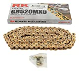 #9: New RK GB520MXU Chain 120 Link for Beta Evo 200 2T 09-17, Evo 250 2T 09-17, Evo 250 4T 09-17, Evo 290 2T 09-11, Evo 300 2T 12-17, Evo 300 4T 09-17, Rev 3 200 04-08, Rev 3 250 04-08