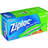 Ziploc Sandwhich Bags EASY OPEN 90 Ct ...