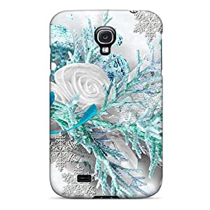 Ultra Slim Fit Hard JMAon Case Cover Specially Made For Galaxy S4- A Bit Of Aqua For The Season