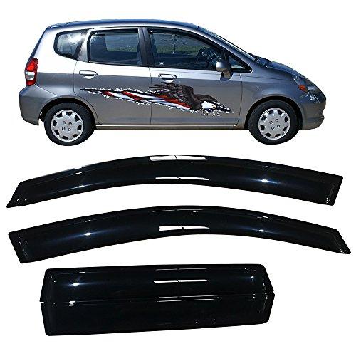 or Fits 2007-2008 Honda Fit | Slim Tinted Acrylic by IKON MOTORSPORTS ()