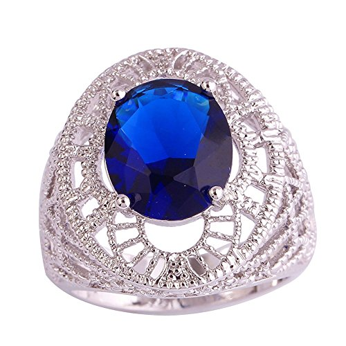 Psiroy-Womens-925-Sterling-Silver-5ct-Sapphire-Quartz-Filled-Ring