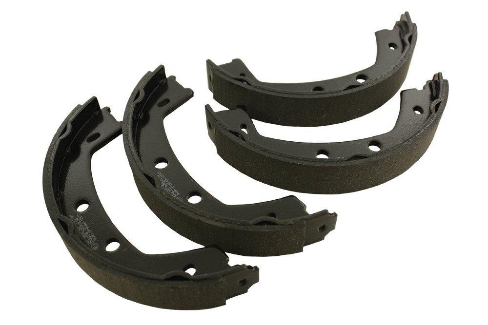 Mintex Hand Brake Brake Shoe Set Freelander 2 All models LR001020M