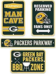 Green Bay Packers Four Pack Fan Sign Set