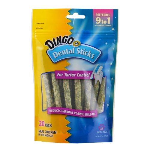 United Pet #P-26013 Dingo 20PK Dental Stix