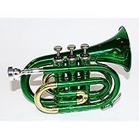 Cher Rystone 0754235506362Pocket Trumpet Green