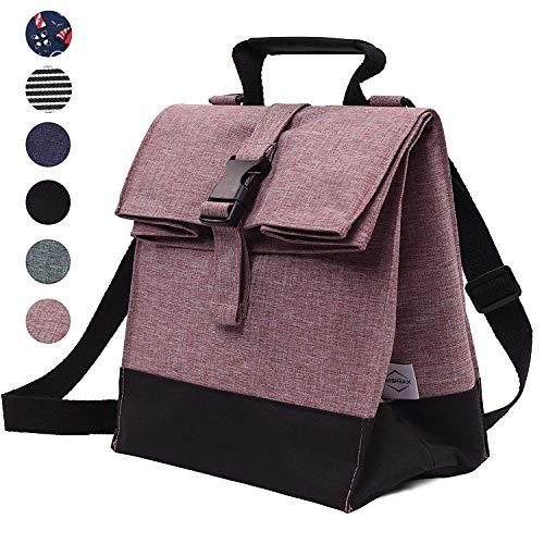 Thermal Insulated Lunch Bag - Reusable Leakproof Cooler for Men, Women, and Kids - Adjustable Shoulder Strap for Outdoor Activities, Work or School