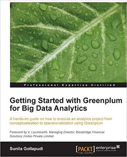 Book Getting Started with Greenplum for Big Data Analytics